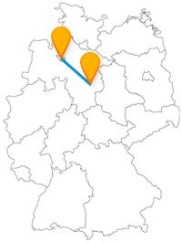 Mit dem Fernbus von Braunschweig nach Bremen geht es von einer Löwenstadt zu einer Vier-Musikanten-Stadt.