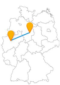 Der Fernbus für Braunschweig und Dortmund eignet sich gut, um Arbeit, Technik und beeindruckende Bauwerke kennenzulernen.