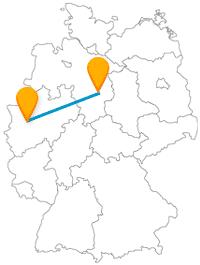 Die Reise mit dem Fernbus von Braunschweig nach Düsseldorf führt Sie zu vielen interessanten Sehenswürdigkeiten.