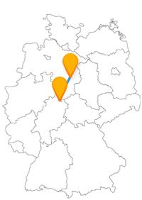 Verbringen Sie nach Ankunft mit dem Fernbus in Braunschweig oder Kassel einen angenehmen und interessanten Tag.