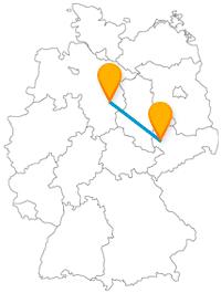 Ob Burg mit Löwe oder Orchesterkonzerte, die Reise mit dem Fernbus von Braunschweig nach Leipzig bringt Sie zu kulturell und geschichtlich interessante Ziele.
