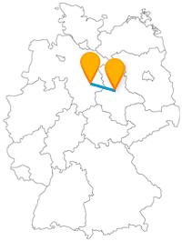 Begegnen Sie auf Ihrer Fernbusreise zwischen Braunschweig und Magdeburg beeindruckende Wappen und Wahrzeichen.