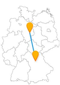 Mit dem Fernbus Braunschweig Nürnberg können Sie auf den Spuren zweier berühmter Persönlichkeiten wandeln.