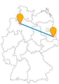 Die längere Strecke für den Fernbus Bremen Cottbus sollte Sie nicht von einer Busreise in diese interessanten Städte abhalten.