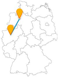 Die Reise mit dem Fernbus von Bremen nach Dortmund ist nicht nur für Fußballfans interessant.