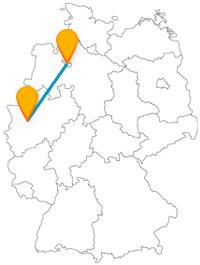 Die Reise mit dem Fernbus von Bremen nach Düsseldorf ist kann zu einer Shopping-Tour für tolle Souvenirs werden.