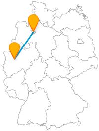 Genießen Sie die Fahrt mit dem Fernbus von Bremen nach Essen und entdecken eine Vielfalt an Ausflugsmöglichkeiten.