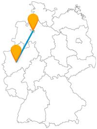 Abwechslungsreicher als auf der Reise mit dem Fernbus zwischen Bremen und Hagen kann es fast nicht werden.
