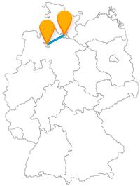 Fahren Sie mit dem Fernbus Bremen Hamburg einmal durch den Norden Deutschlands ohne Zwischenhalt.