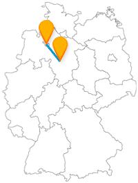 Die bequeme Fahrt mit dem Fernbus zwischen Bremen und Hannover bringt Sie zu einer 100 Meter langen Sensation und einer rund 600 Jahre alten Sehenswürdigkeit.
