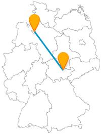 Nach der Fahrt mit dem Fernbus zwischen Bremen und Jena erwarten Sie schöne Gärten und Parkanlagen.