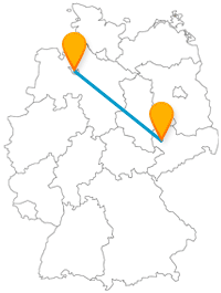 Verbinden Sie mit der Fernbusreise zwischen Bremen und Leipzig maritimes mit historischem Flair.