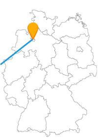 Die Reise mit dem Fernbus Bremen London führt einmal über die Nordsee.