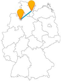 Genießen Sie auf der Fernbusreise zwischen Bremen und Lübeck das Flair der Nord- und Ostseeküste.