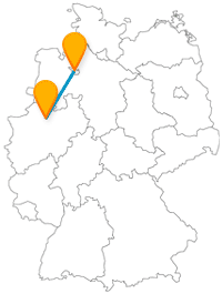 Mit dem Fernbus von Bremen nach Münster kommen Sie in eine interessante Universitätsstadt.