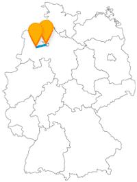Die Fahrt mit dem Fernbus von Bremen nach Oldenburg ist eine entspannte Fernbusreise an der Nordseeluft.