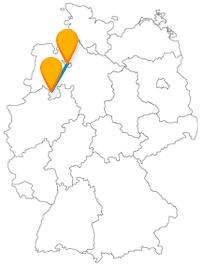 Haben Sie auf Ihrer Reise mit dem Fernbus von Bremen nach Osnabrück ein tolles Naturerlebnis.