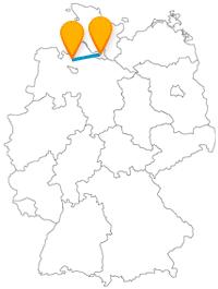 Fahren Sie mit dem Fernbus zwischen Bremerhaven und Hamburg von der einzigen Stadt an der Nordsee zur zweitgrößten Stadt Deutschlands.