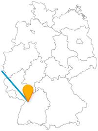 Die Reise mit dem Fernbus von Brüssel nach Karlsruhe beschert Ihnen viel Freifläche zum Flanieren.