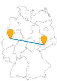 Steigen Sie in den Fernbus Chemnitz Dortmund ein und lassen Sie sich zu einem Monument oder Steinkohle-Bergwerk fahren.