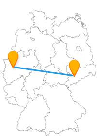 Der Fernbus für Chemnitz Düsseldorf bringt Sie zu einer Eisenbahn und in eine Luxusstraße.