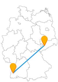 In beiden Städten erwartet Sie nach der Reise im Fernbus Chemnitz Freiburg ein besonderes Flair.