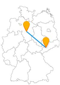 Die Reise im Bus für Chemnitz Hannover ist etwas für Shopping-Fans und Historiker.