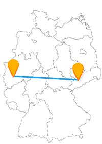 Erleben Sie mit der Reise im Fernbus Chemnitz Köln eine gute Busfahrt zu Eisenbahnen und einer berühmten Sehenswürdigkeit.