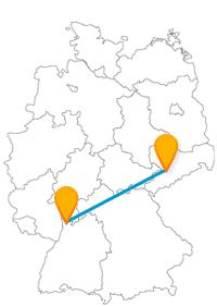 Viele historisch interessante Bauwerke warten auf Sie nach der Fahrt mit dem Fernbus Chemnitz Mannheim.