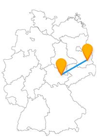 Im Fernbus Cottbus Jena können Sie sich auf sehr alte, historische Gebäude oder außergewöhnlichere Museen freuen.