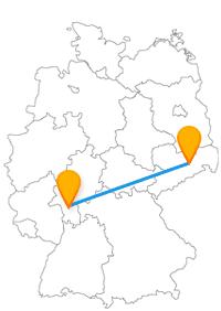 Ein Fernbus von Darmstadt nach Dresden bietet eine interessante Busfahrt zwischen Hessen und Sachsen.