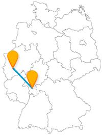 Katakomben oder Schokolade? Die Fahrt im Fernbus zwischen Darmstadt und Köln kann beides bieten.