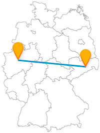 Nutzen Sie nicht nur als Fußballfan den Fernbus zwischen Dortmund und Dresden.