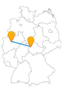Reisen Sie mit dem Fernbus Dortmund Eisenach und besichtigen Sie die Wartburg oder die Krügerpassage.