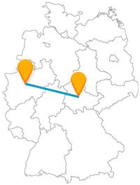 Ob Zoo, ob Garten, die Reise mit dem Fernbus zwischen Dortmund und Erfurt lohnt sich immer.