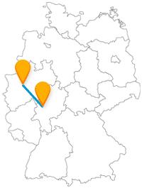 Die Fahrt mit dem Fernbus von Dortmund nach Gießen ist auch als Familienausflug gut geeignet.
