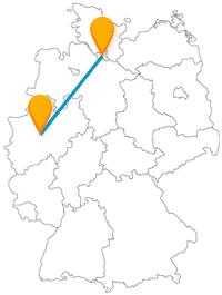 Finden Sie im Busvergleich heraus, welcher Fernbus von Dortmund nach Hamburg für Sie am besten ist.
