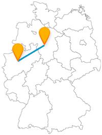 Fahren Sie mit dem Fernbus von Dortmund nach Hannover und erleben Sie verschiedene Sehenswürdigkeiten.