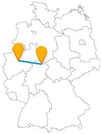 Museum oder Park? Machen Sie das auf Ihrer Reise mit dem Fernbus zwischen Dortmund und Kassel vom Wetter abhängig.