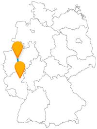 Lernen Sie auf Ihrer Reise mit dem Fernbus von Dortmund nach Koblenz schöne Landschaften kennen.