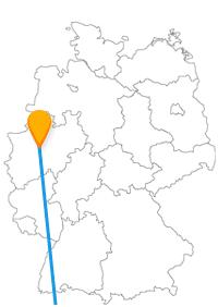 Reisen Sie mit dem Fernbus zwischen Dortmund und Mailand ein Stück weit in die vergangene Geschichte.