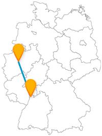 Interessiert an früheren Arbeitssweisen oder eher am edlen Lebensstil? Die Reise mit dem Fernbus zwischen Dortmund und Mannheim gibt Einblick.