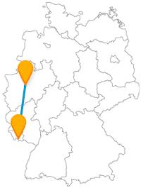 Die Reise mit dem Fernbus von Dortmund nach Saarbrücken bringt Sie der saarländischen Geschichte näher.