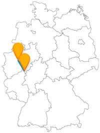 Weil drei sich streiten, können Sie sich mit der Fernbusreise von Dortmund nach Siegen auf eine besondere Sehenswürdigkeit freuen.