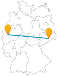 Gönnen Sie sich mit dem Fernbus von Dresden nach Düsseldorf einwenig Luxus.
