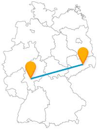 Der Dresden Frankfurt Bus ist regelmäßig unterwegs und bringt Sie in zwei kulturell und historisch interessante Städte.