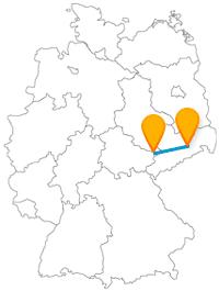 Mit der Reise im Fernbus zwischen Dresden und Gera können alte Geschichten lebendig werden.