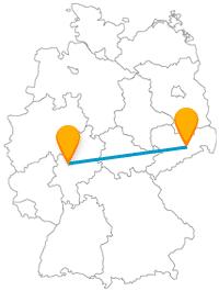 Der Fernbus zwischen Dresden und Gießen bringt Sie zu interessante Exponate und Phänomene.