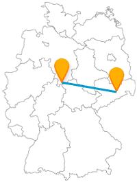 Mit dem Fernbus von Dresden nach Göttingen kommen Sie vom Elbflorenz zu einer berühmten Frau.