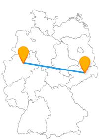 Kann ein Glaselefant auf Ihrer Fahrt im Fernbus Dresden Hamm mit einer berühmten Frauenkirche mithalten?